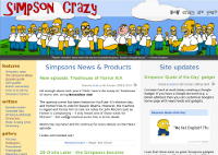 Simpson Crazy new design